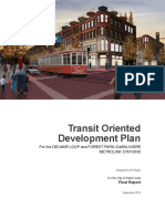 TOD Station Area Planning, Delmar & Forest Park Station - St. Louis, MO