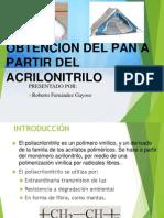 Obtencion del PAN (Exposición de Procesos Petróquimico)