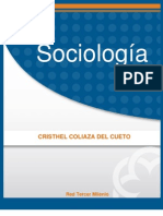 Sociologia - Cristhel Coliaza Del Cueto