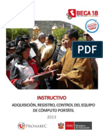 Instructivo Laptop