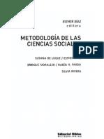 Conocimiento Ciencia Epistemologia Diaz