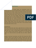 Bahasa Dalam Penulisan Rencana