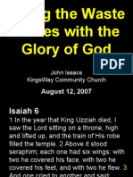 08-12-2007 justice - holiness - majesty