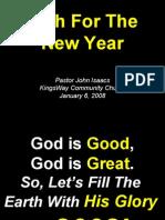01-06-2008 faith for the new year