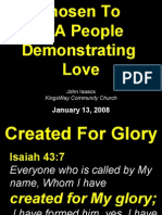 01-13-2008 chosen to demonstrate love