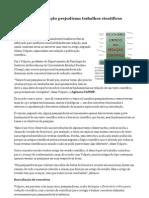 Agência FAPESP - Equívocos de redação prejudicam trabalhos científicos brasileiros - 03_07_2013