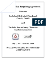 CTA CBA July 1 2011-June 30 2014 - 2012-2013 Modifications