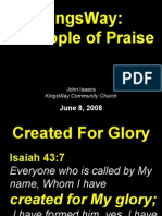 06-08-2008 people of praise - you are my portion