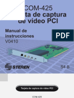 Tarjeta de Captura de Video Com425 (Steren)