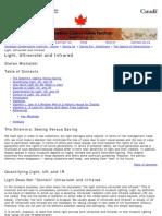 Michlaski Light Ultraviolet and Infrared