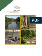Northampton County illegal Dump Survey 2013