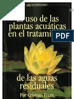 EL USO DE PLANTAS ACUATICAS EN EL TRATAMIENTO DE LAS AGUAS RESIDUALES_por Cristian Frers