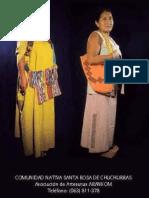 Saberes, artes y mujeres indígenas (formato cartilla)