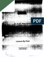 4 AC & DC Machine Theory