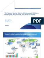 The Future of Nuclear Market – Challenges and Solutions