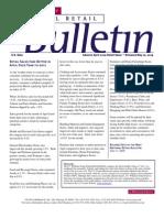 Retail Consulting - National Retail Bulletin - J.C. Williams Group - April 2009