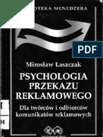 Psychologia Przekazu Reklamowego-M. Laszczak