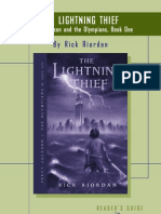 Percy Jackson and the Olympians -- The Lightning Thief discussion guide