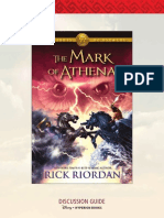 The Heroes of Olympus -- The Mark of Athena discussion guide