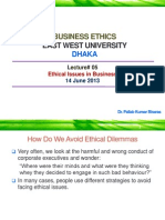 Business Ethics Lecture 4 130613