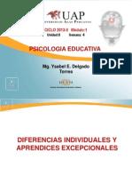 Ayuda 4- Diferencia Individuales y Aprendices