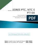 Sensores de Temperatura - PTC_NTC_PT100