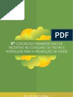 5º Congresso panamericano para o incentivo do consumo de hortaliças