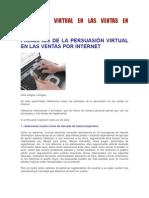 PERSUASIÓN VIRTUAL EN LAS VENTAS EN INTERNET