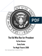 Kid for President Study Guide