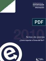 Servicios Al Exportador Info.