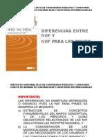 Diferencias NIIF y NIIF Pymes Charla