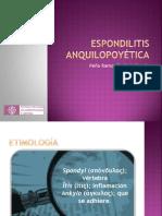 Espondilitis anquilopoyética