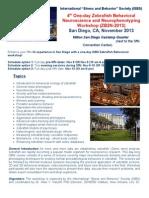 ZNBW 2013 Workshop San Diego Flyer