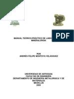 Manual de Laboratorio de Mineral Rgia[1]