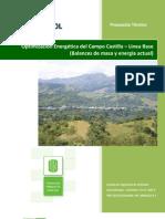 Optimización Energética del Campo Castilla – Línea Base (Balances de masa y energía actual)