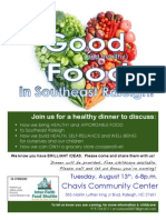 Good and Health Food in Southeast Raleigh-8-13-13