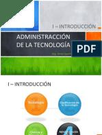 Administracción de la Tecnología Unidad I