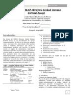 Técnica de ELISA (Enzyme Linked Inmuno Sorbent Assay)