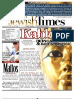 Jewish Times - Volume IV, No. 42...July 29, 2005