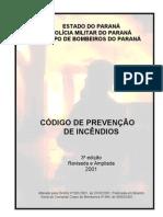 Codigo Prevencao Incendio 2001