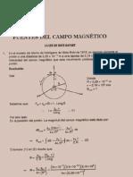 69845740 Fisica Ejercicios Resueltos Soluciones Ley Biot Savart Campo Magnetico