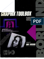 Turbo Pascal Graphix Toolbox Version 4.0 1987
