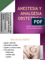 Anestesia y Analgesia Obstetrica (1)