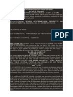Modelo de Habeas Corpus para trancar ação penal