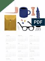 2013 Calendar Large