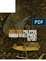 2013 Philippine Human Development Report Geography and Human Development
