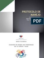 Protocolo de Manejo