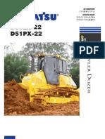 Especificaciones Tecnicas Bulldozer D51EX-22