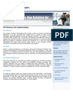 Agt Sap Ssapbusinessonesolutionforbuildingsolutioncompany