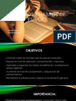 Métodos y Hábitos de estudio